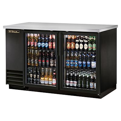 True Manufacturing Co., Inc. TBB-2G-HC-LD back bar cabinet, refrigerated