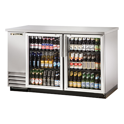 True Manufacturing Co., Inc. TBB-2G-S-HC-LD back bar cabinet, refrigerated