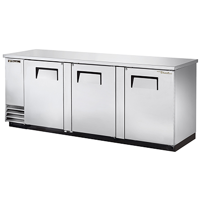 True Manufacturing Co., Inc. TBB-4-S-HC back bar cabinet, refrigerated
