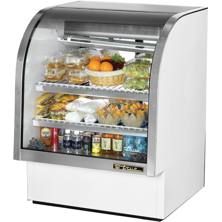 True Manufacturing Co., Inc. TCGG-36-LD display case, refrigerated deli