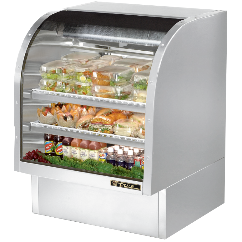True Manufacturing Co., Inc. TCGG-36-S-LD display case, refrigerated deli