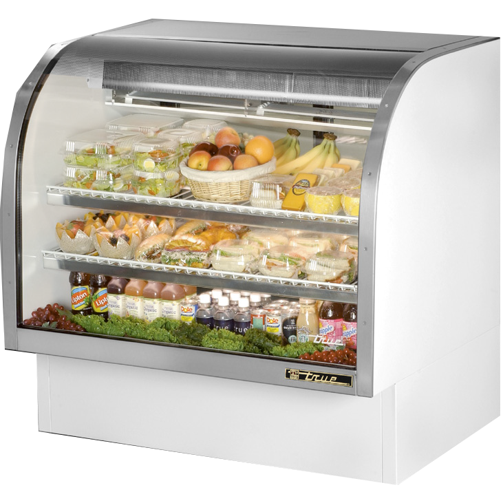 True Manufacturing Co., Inc. TCGG-48-LD display case, refrigerated deli