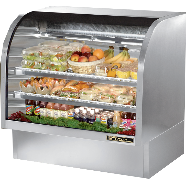 True Manufacturing Co., Inc. TCGG-48-S-LD display case, refrigerated deli