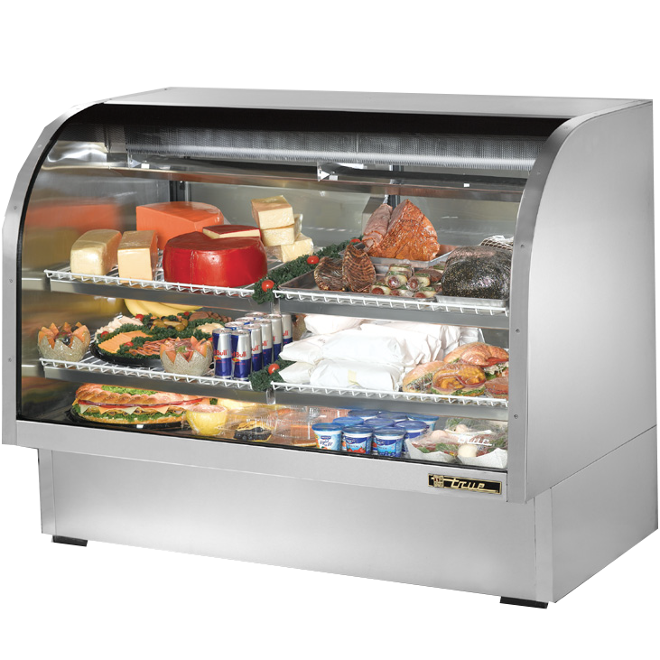 True Manufacturing Co., Inc. TCGG-60-S-LD display case, refrigerated deli