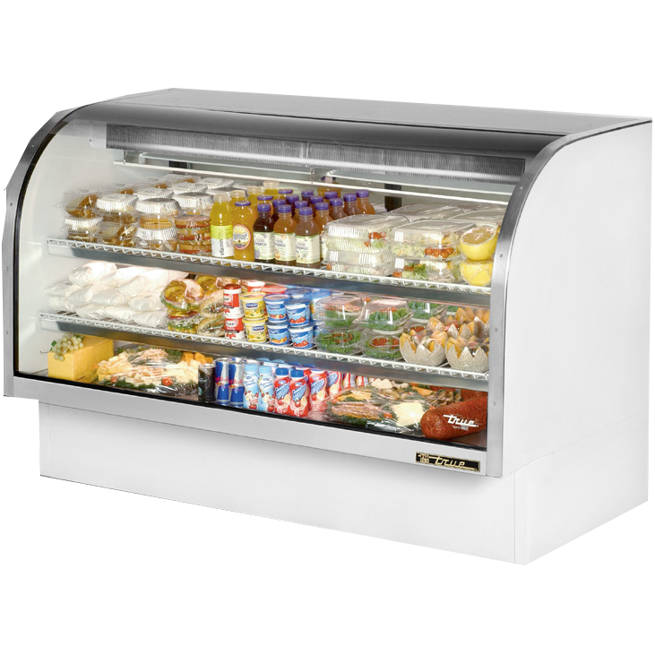 True Manufacturing Co., Inc. TCGG-72-LD display case, refrigerated deli