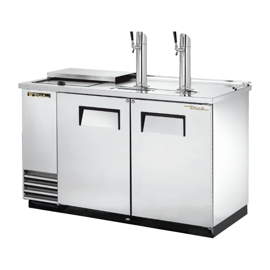True Manufacturing Co., Inc. TDD-2CT-S-HC draft beer cooler
