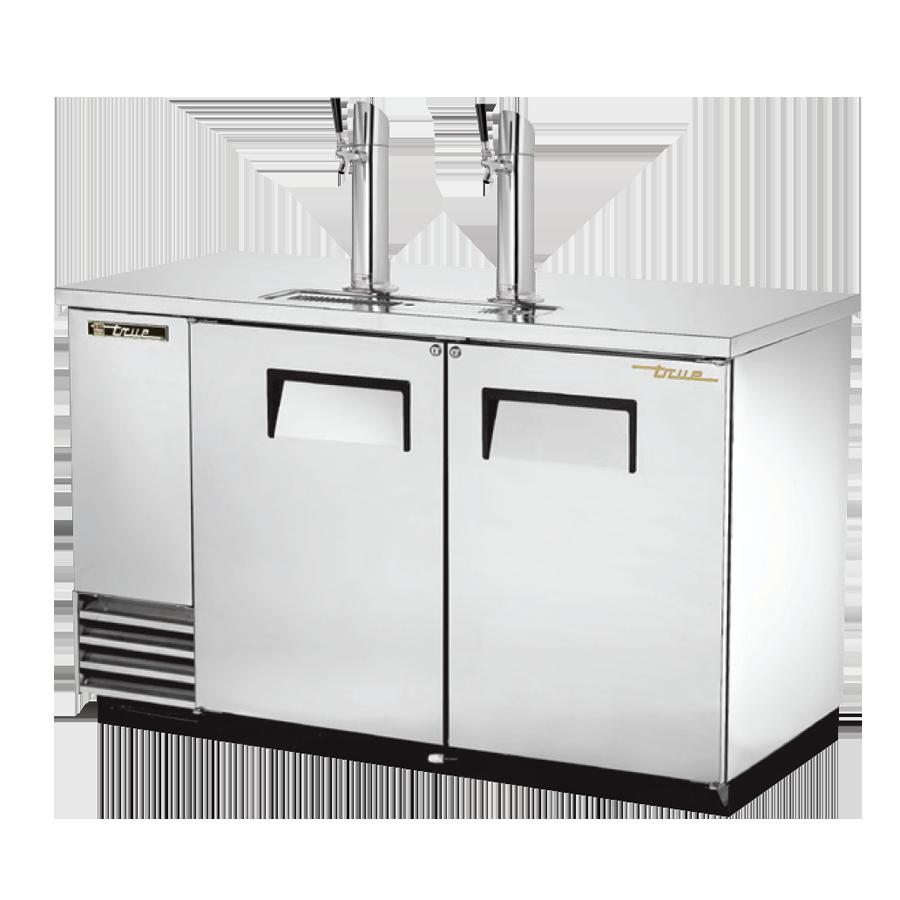 True Manufacturing Co., Inc. TDD-2-S-HC draft beer cooler