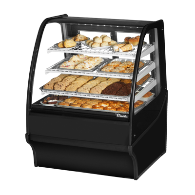 True Manufacturing Co., Inc. TDM-DC-36-GE/GE-B-W display case, non-refrigerated bakery