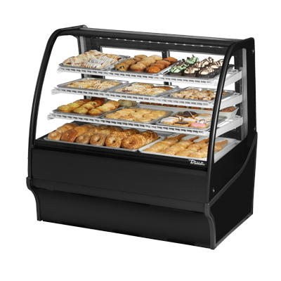 True Manufacturing Co., Inc. TDM-DC-48-GE/GE-B-W display case, non-refrigerated bakery