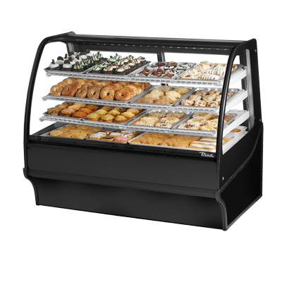 True Manufacturing Co., Inc. TDM-DC-59-GE/GE-B-W display case, non-refrigerated bakery