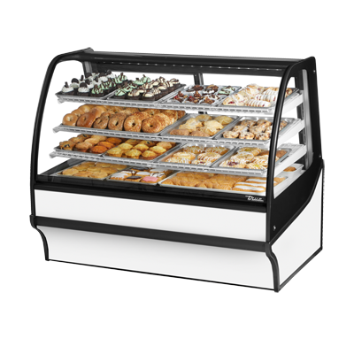 True Manufacturing Co., Inc. TDM-DC-59-GE/GE-W-W display case, non-refrigerated bakery