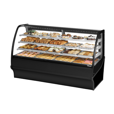 True Manufacturing Co., Inc. TDM-DC-77-GE/GE-B-W display case, non-refrigerated bakery