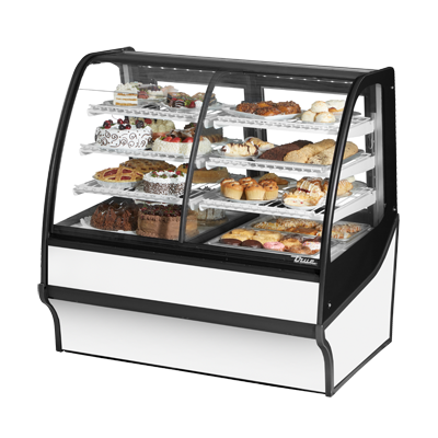 True Manufacturing Co., Inc. TDM-DZ-48-GE/GE-S-W display case, refrigerated/non-refrig