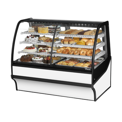 True Manufacturing Co., Inc. TDM-DZ-59-GE/GE-S-W display case, refrigerated/non-refrig