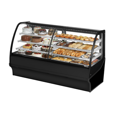 True Manufacturing Co., Inc. TDM-DZ-77-GE/GE-B-W display case, refrigerated/non-refrig