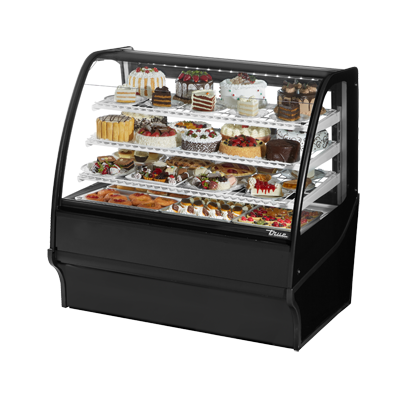 True Manufacturing Co., Inc. TDM-R-48-GE/GE-B-W display case, refrigerated bakery