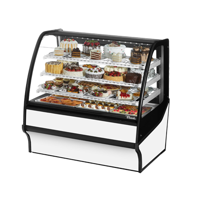 True Manufacturing Co., Inc. TDM-R-48-GE/GE-S-W display case, refrigerated bakery