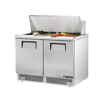 True Manufacturing Co., Inc. TFP-48-18M refrigerated counter, mega top sandwich / salad unit