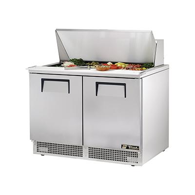 True Manufacturing Co., Inc. TFP-48-18M refrigerated counter, mega top sandwich / salad unit