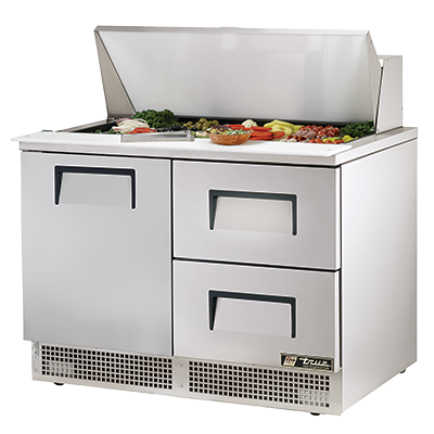 True Manufacturing Co., Inc. TFP-48-18M-D-2 refrigerated counter, mega top sandwich / salad unit