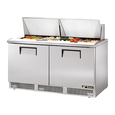 True Manufacturing Co., Inc. TFP-64-24M refrigerated counter, mega top sandwich / salad unit