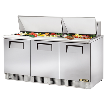 True Manufacturing Co., Inc. TFP-72-30M refrigerated counter, mega top sandwich / salad unit