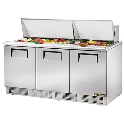 True Manufacturing Co., Inc. TFP-72-30M refrigerated counter, mega top sandwich / salad unit