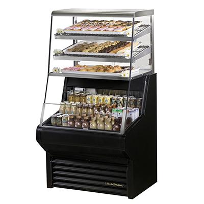 True Manufacturing Co., Inc. THAC-36DG-LD merchandiser, open refrigerated display
