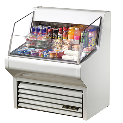 True Manufacturing Co., Inc. THAC-36-LD merchandiser, open refrigerated display