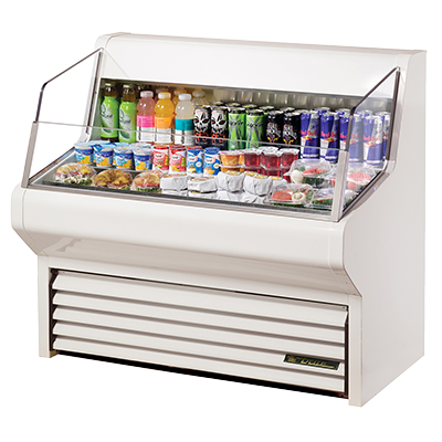 True Manufacturing Co., Inc. THAC-48-LD merchandiser, open refrigerated display