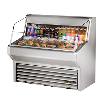 True Manufacturing Co., Inc. THAC-48-S-LD merchandiser, open refrigerated display