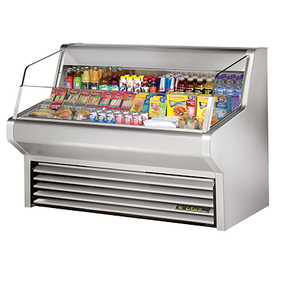 True Manufacturing Co., Inc. THAC-60-S-LD merchandiser, open refrigerated display