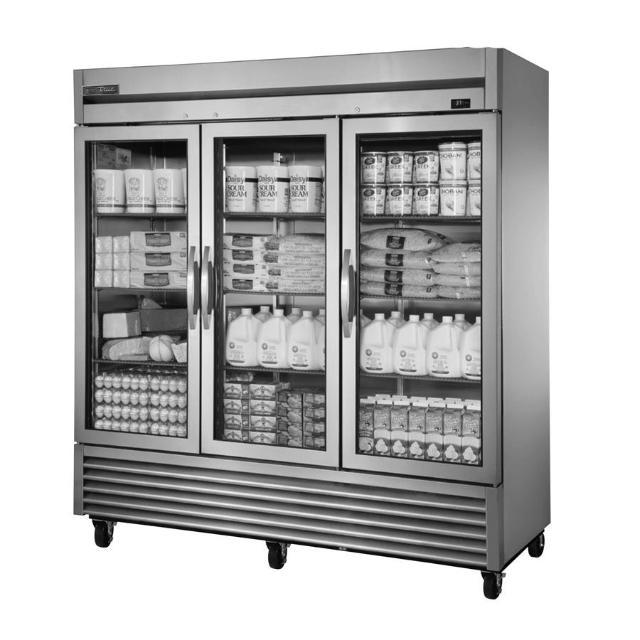 True Manufacturing Co., Inc. TS-72G-HC~FGD01 refrigerator, reach-in