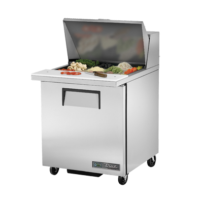True Manufacturing Co., Inc. TSSU-27-12M-B-HC refrigerated counter, mega top sandwich / salad unit