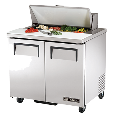 True Manufacturing Co., Inc. TSSU-36-08-HC refrigerated counter, sandwich / salad unit