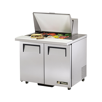 True Manufacturing Co., Inc. TSSU-36-12M-B-ADA-HC refrigerated counter, mega top sandwich / salad unit