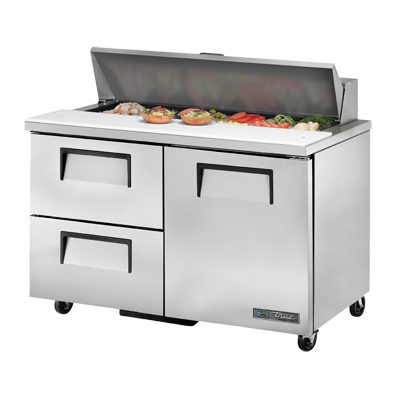 True Manufacturing Co., Inc. TSSU-48-12D-2-HC refrigerated counter, sandwich / salad unit