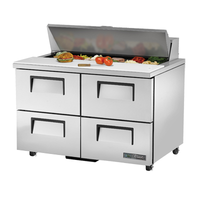 True Manufacturing Co., Inc. TSSU-48-12D-4-ADA-HC refrigerated counter, sandwich / salad unit