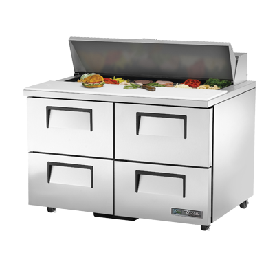 True Manufacturing Co., Inc. TSSU-48-12D-4-HC refrigerated counter, sandwich / salad unit
