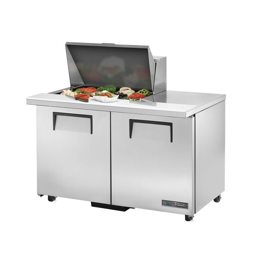 True Manufacturing Co., Inc. TSSU-48-12M-B-ADA-HC refrigerated counter, mega top sandwich / salad unit
