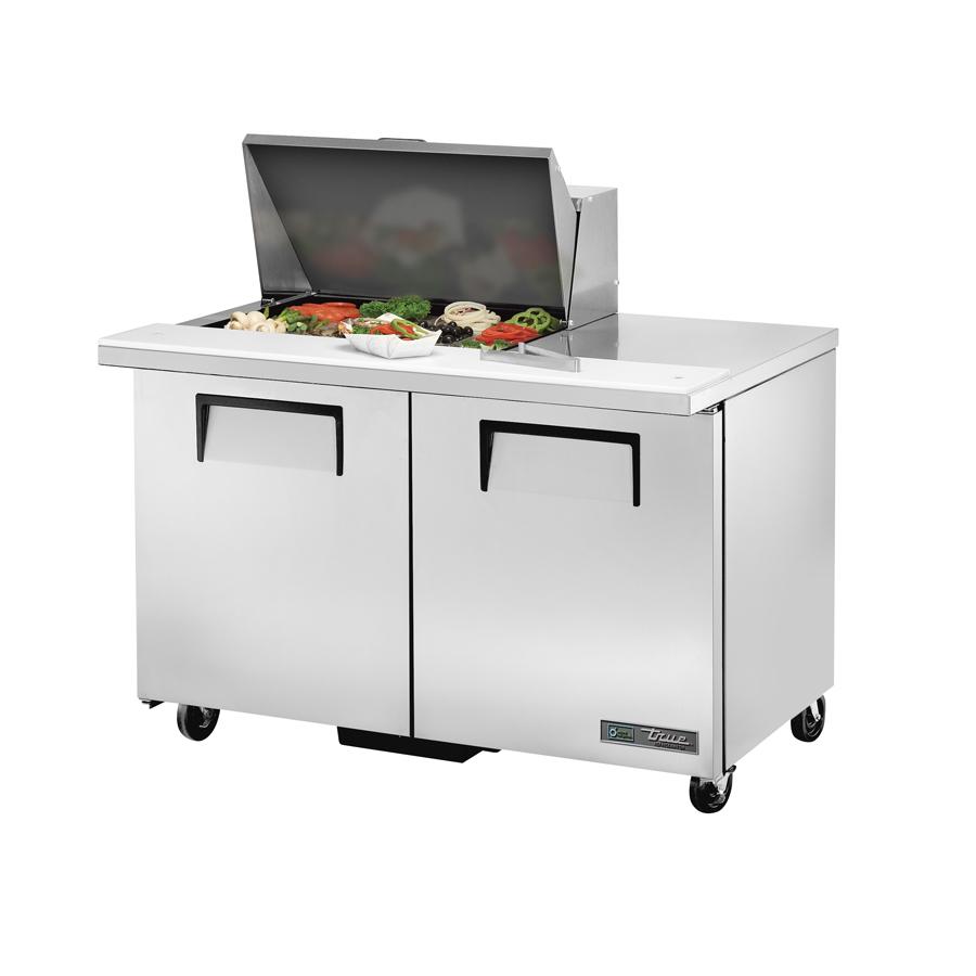 True Manufacturing Co., Inc. TSSU-48-12M-B-HC refrigerated counter, mega top sandwich / salad unit