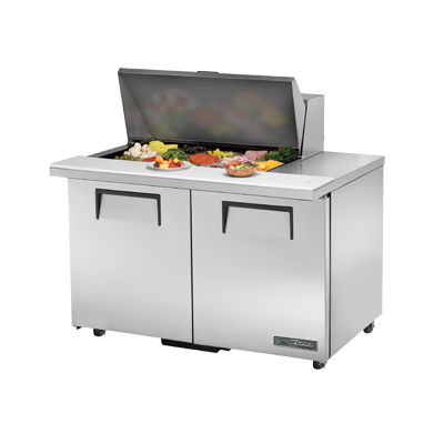 True Manufacturing Co., Inc. TSSU-48-15M-B-ADA-HC refrigerated counter, mega top sandwich / salad unit