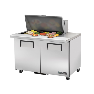 True Manufacturing Co., Inc. TSSU-48-15M-B-HC refrigerated counter, mega top sandwich / salad unit