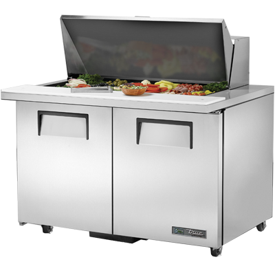 True Manufacturing Co., Inc. TSSU-48-18M-B-ADA-HC refrigerated counter, mega top sandwich / salad unit