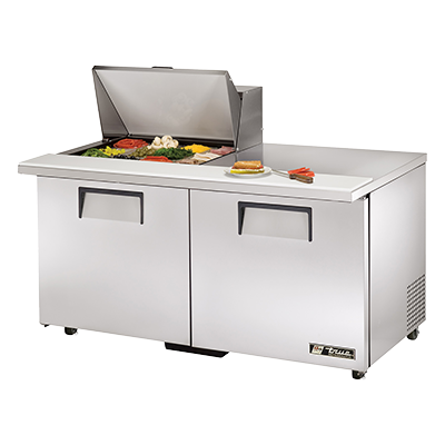 True Manufacturing Co., Inc. TSSU-60-12M-B-ADA-HC refrigerated counter, mega top sandwich / salad unit