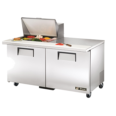 True Manufacturing Co., Inc. TSSU-60-12M-B-HC refrigerated counter, mega top sandwich / salad unit
