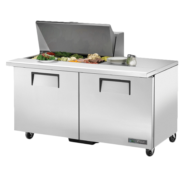 True Manufacturing Co., Inc. TSSU-60-15M-B-HC refrigerated counter, mega top sandwich / salad unit