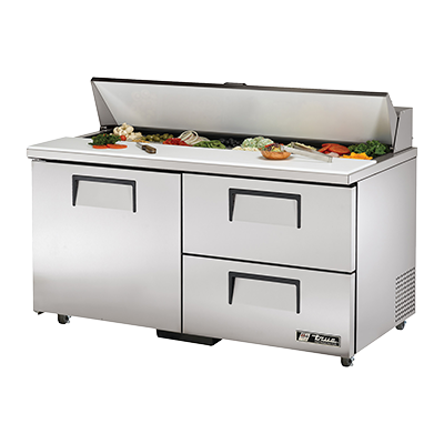 True Manufacturing Co., Inc. TSSU-60-16D-2-ADA-HC refrigerated counter, sandwich / salad unit
