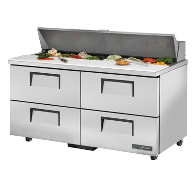 True Manufacturing Co., Inc. TSSU-60-16D-4-ADA-HC refrigerated counter, sandwich / salad unit