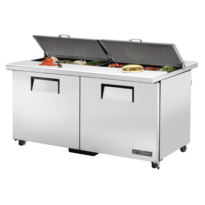 True Manufacturing Co., Inc. TSSU-60-16-DS-ST-ADA-HC refrigerated counter, sandwich / salad unit